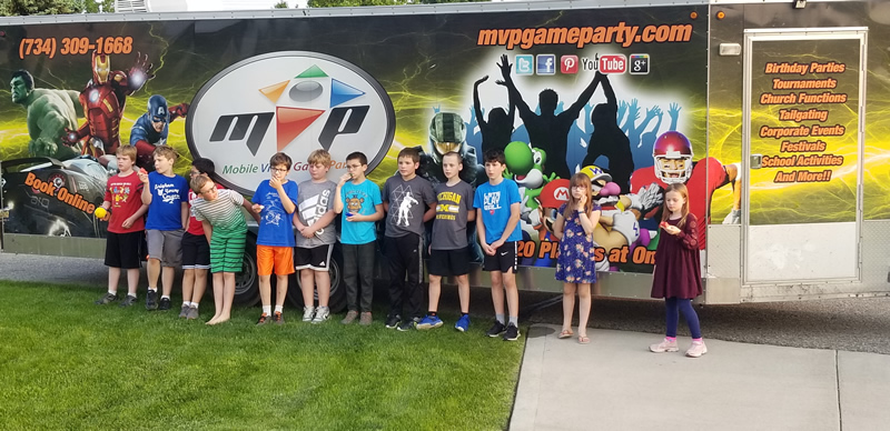 The Best Birthday Party Idea In Michigan Mobile Video Game